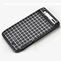 ROCK Magic cube TPU soft Cases Covers for Motorola XT910 RAZR - Black