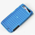 ROCK Magic cube TPU soft Cases Covers for Motorola XT910 RAZR - Blue