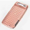 ROCK Magic cube TPU soft Cases Covers for Motorola XT910 RAZR - Pink