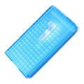 ROCK Magic cube TPU soft Cases Covers for Nokia Lumia 900 Hydra - Blue