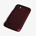ROCK Naked Shell Hard Cases Covers for Motorola ME865 - Red