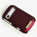ROCK Naked Shell Hard Cases Covers for Motorola XT319 - Red