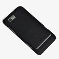 ROCK Naked Shell Hard Cases Covers for Motorola XT615 - Black