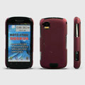 ROCK Naked Shell Hard Cases Covers for Motorola XT882 - Red