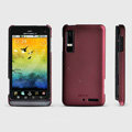ROCK Naked Shell Hard Cases Covers for Motorola XT883 - Red