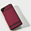 ROCK Naked Shell Hard Cases Covers for Motorola XT928 - Red