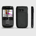 ROCK Naked Shell Hard Cases Covers for Nokia E6 - Black