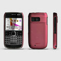 ROCK Naked Shell Hard Cases Covers for Nokia E6 - Red
