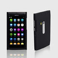 ROCK Naked Shell Hard Cases Covers for Nokia N9 - Black