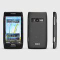 ROCK Naked Shell Hard Cases Covers for Nokia X7 X7-00 - Black