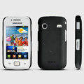 ROCK Naked Shell Hard Cases Covers for Samsung i569 S5660 Galaxy Gio - Black