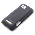 ROCK Quicksand Hard Cases Skin Covers for Motorola XT535 - Black