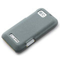 ROCK Quicksand Hard Cases Skin Covers for Motorola XT535 - Gray