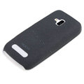 ROCK Quicksand Hard Cases Skin Covers for Nokia Lumia 610 - Black