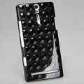 Nillkin 3D Mysterious Shadow Hard Cases Skin Covers for Sony Ericsson LT26i Xperia S - Round