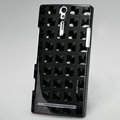 Nillkin 3D Mysterious Shadow Hard Cases Skin Covers for Sony Ericsson LT26i Xperia S - Square