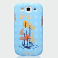 Nillkin Arts Show Hard Cases Skin Covers for Samsung Galaxy SIII S3 I9300 I9308 - Forest