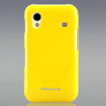 Nillkin Colorful Hard Cases Skin Covers for Samsung Galaxy Ace S5830 i579 - Yellow