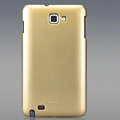 Nillkin Colorful Hard Cases Skin Covers for Samsung Galaxy Note i9220 N7000 i717 - Golden