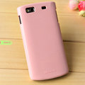Nillkin Colorful Hard Cases Skin Covers for Samsung S8600 Wave 3 - Pink