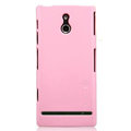 Nillkin Colorful Hard Cases Skin Covers for Sony Ericsson LT22i Xperia P - Pink