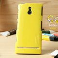 Nillkin Colorful Hard Cases Skin Covers for Sony Ericsson LT22i Xperia P - Yellow