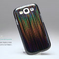 Nillkin Dynamic Color Hard Cases Skin Covers for Samsung Galaxy SIII S3 I9300 I9308 - Black