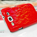 Nillkin Dynamic Color Hard Cases Skin Covers for Samsung Galaxy SIII S3 I9300 I9308 - Red