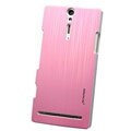 Nillkin Dynamic Color Hard Cases Skin Covers for Sony Ericsson LT26i Xperia S - Pink