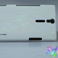 Nillkin Dynamic Color Hard Cases Skin Covers for Sony Ericsson LT26i Xperia S - White