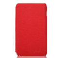 Nillkin Flip leather Cases Holster Covers for Samsung Galaxy Note i9220 N7000 i717 - Red