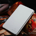 Nillkin Flip leather Cases Holster Covers for Samsung Galaxy Note i9220 N7000 i717 - White