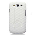 Nillkin Lozenge Skin Hard Cases Covers for Samsung Galaxy SIII S3 I9300 I9308 - White
