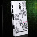 Nillkin Shining Stars Hard Cases Skin Covers for Sony Ericsson LT22i Xperia P - White