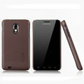 Nillkin Super Matte Hard Cases Skin Covers for Samsung Epic 4G Touch D710 - Brown