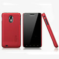 Nillkin Super Matte Hard Cases Skin Covers for Samsung Epic 4G Touch D710 - Red