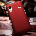 Nillkin Super Matte Hard Cases Skin Covers for Samsung Galaxy Ace S5830 i579 - Red