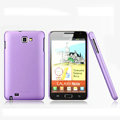 Nillkin Super Matte Hard Cases Skin Covers for Samsung Galaxy Note i9220 N7000 i717 - Purple