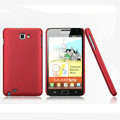 Nillkin Super Matte Hard Cases Skin Covers for Samsung Galaxy Note i9220 N7000 i717 - Red