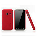 Nillkin Super Matte Hard Cases Skin Covers for Samsung S5820 - Red