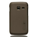 Nillkin Super Matte Hard Cases Skin Covers for Samsung S6102 Galaxy Y Duos - Brown