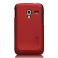 Nillkin Super Matte Hard Cases Skin Covers for Samsung S7500 GALAXY Ace Plus - Red