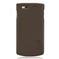 Nillkin Super Matte Hard Cases Skin Covers for Samsung S8600 Wave 3 - Brown