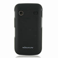 Nillkin Super Matte Hard Cases Skin Covers for Samsung i569 S5660 Galaxy Gio - Black