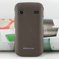 Nillkin Super Matte Hard Cases Skin Covers for Samsung i569 S5660 Galaxy Gio - Brown