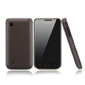 Nillkin Super Matte Hard Cases Skin Covers for Samsung i809 - Brown
