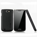 Nillkin Super Matte Hard Cases Skin Covers for Samsung i8150 Galaxy W - Black