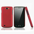 Nillkin Super Matte Hard Cases Skin Covers for Samsung i8150 Galaxy W - Red