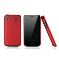 Nillkin Super Matte Hard Cases Skin Covers for Samsung i9008L - Red