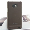 Nillkin Super Matte Hard Cases Skin Covers for Samsung i9100 i9108 i9188 Galasy S2 - Brown